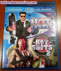 Pack hot shots 1 y 2 (bluray)