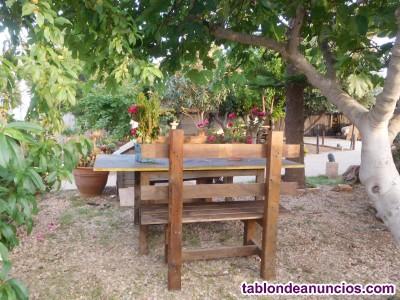 Chalet vacacional con piscina en Nijar Almeria