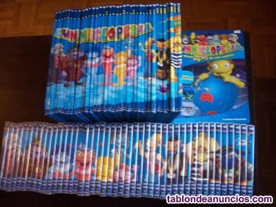 LOS LUNNIS (45 DVDS 45 LIBROS)