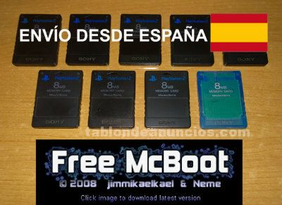 FREE MCBOOT MEMORY CARD SONY PLAYSTATION