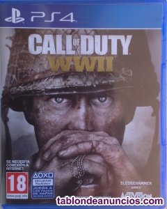 CALL OF DUTY WWII PARA PS4.