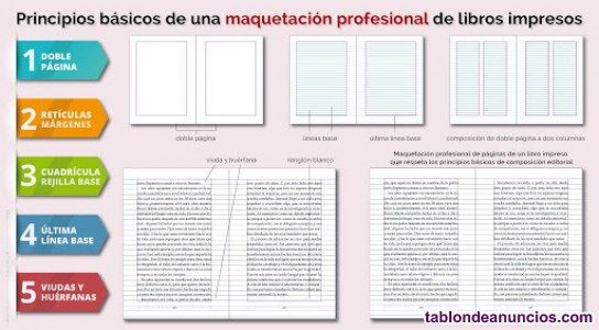 Maquetacion de tesis, proyectos, libros...