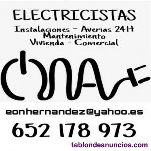 Electricista 24h ibiza