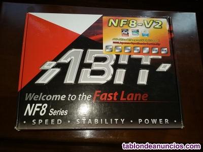 Placa nf8-v2 y procesador