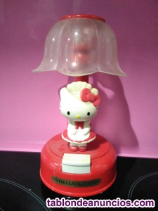Lampara de hello kitty