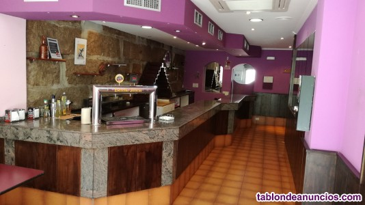 Se alquila cafe bar licencia en vigor