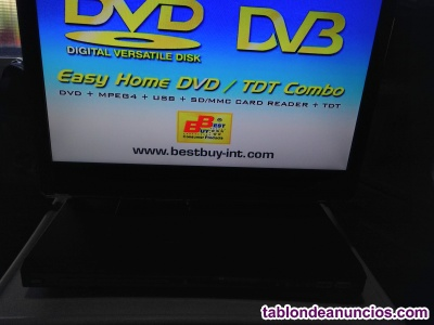 REPRODUCTOR CON TDT BEST BUY