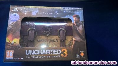 Uncharted 3 explorer edition.