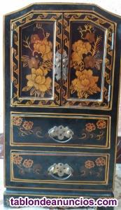 Mueble madera joyero