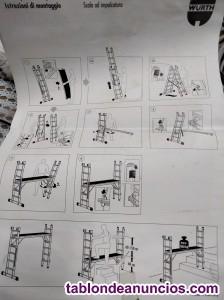 Multi escalera andamio