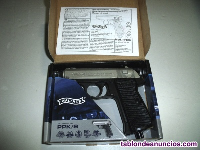 Walther ppk/s 4. 5mm