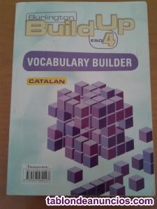 Libro 4 ESO Inglés Burlington Build Up Catalan