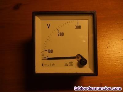 Voltímetro analógico saci 0-300v