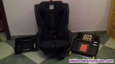 SILLA DE COCHE VIAGGIO 1 DUO FIX DE PEG PEREGO BASE ISOFIX BASE NORMAL