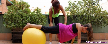 Instructora pilates, suelo, complementos, rehabilitacion.