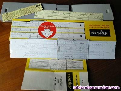 Regla de calculo aristo stahlbeton 940 hormigon armado system gÖttsch - slide ru