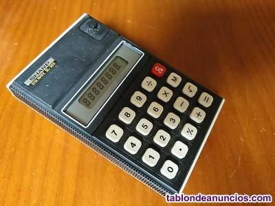 Calculadora sharp elsimate el-203 de los años 70 lcd elsi mate el203 electronic