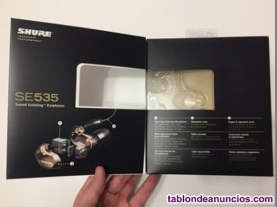 Auriculares in ear shure se535