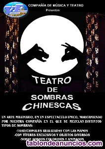 Espectaculo infantil sombras chinescas