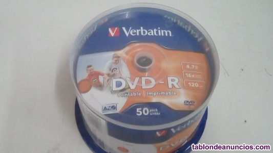 TARRINA DISCO VIRGEN DVD-R