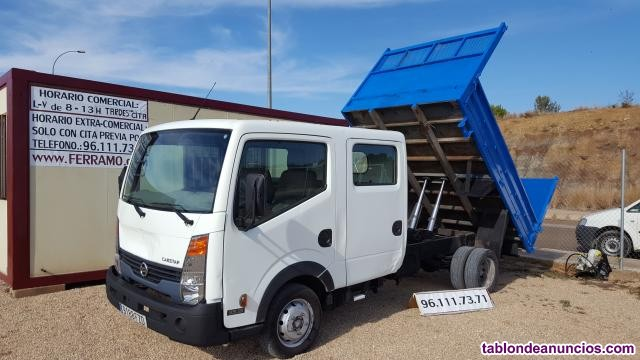 NISSAN CABSTAR, NISSAN CABSTAR VOLQUETE DOBLE CABINA