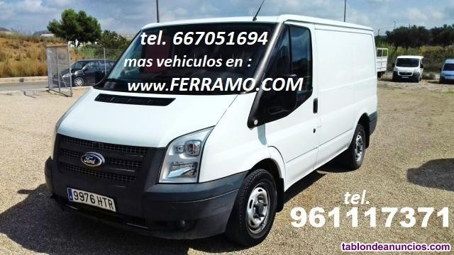 FORD TRANSIT, FORD TRANSIT 6 VELOCIDADES, AÑO 2013 9976HTR