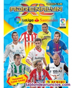 ADRENALYN XL LA LIGA SANTANDER 2017-18