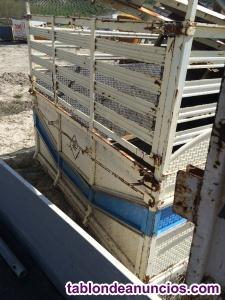 Caja de camion de 4, 50 x 2, 20 metros