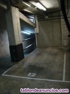 Alquilo plaza de parking
