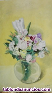 Bucaro con flores