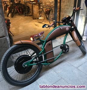 BICI CUSTOM ELECTRICA