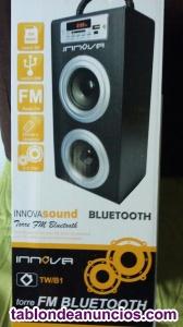 Vendo torre de sonido bluetooth sin estrenar