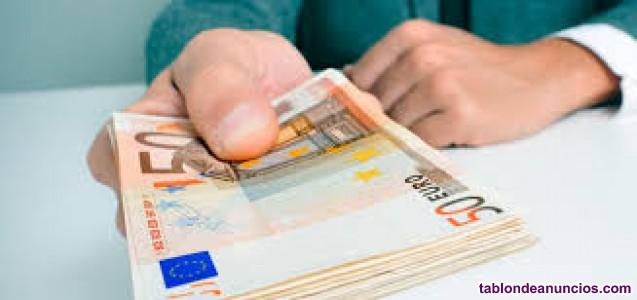 La obtención de un préstamo de dinero serio