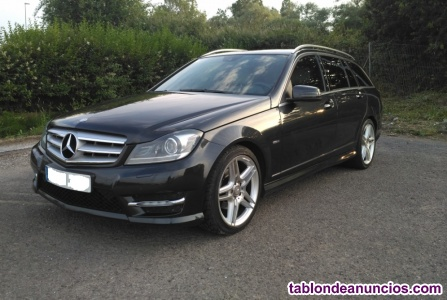 Mercedes benz clase c 220 cdi estate amg avantgarde