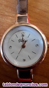 Reloj mujer doradomarron