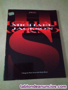Libro de partituras hot songs book 1 michael jackson