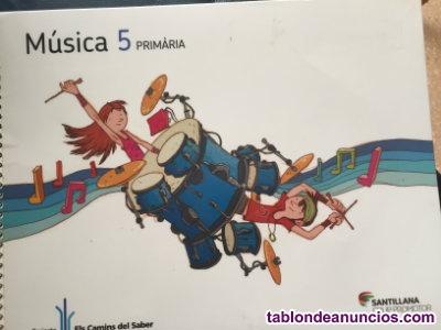 Música 5 Primària Santillana Els camins del saber