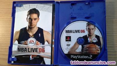 JUEGOS PLAYSTATION 2, NBA LIVE 06