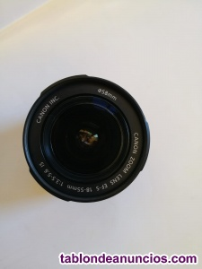 OBJETIVO CANON ZOOM LENS EF-S 18-55MM 1:3.5-5.6 IS