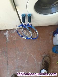 Vendo par de raquetas de tenis para principiantes o niños/ñas