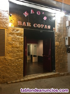 SE TRASPASA BAR DE COPAS