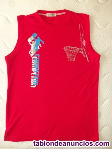 Camiseta tirantes rojo xxl