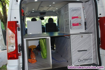 Citroën jumpy larga camperizada