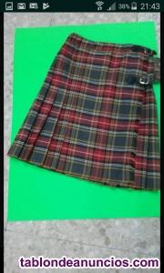 Liquidación faldas escocesas.