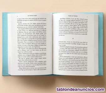 Diseño cubiertas, portadas libros