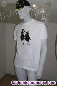 Camisetas don quijote unisex