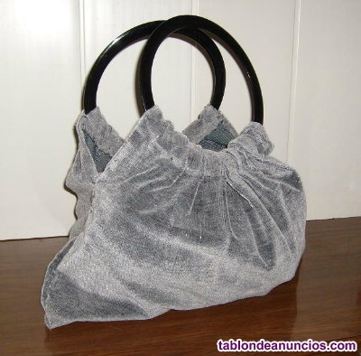 Bolso de pana de mujer