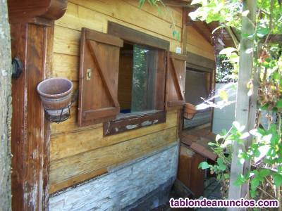 URGENTE. Venta de casa de madera