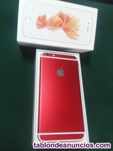IPHONE 6 PLUS. 16 GB, RED WHITE
