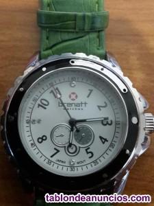 Reloj brenatt verde a